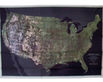 Satellite Images Etsy - National geographic world satellite map