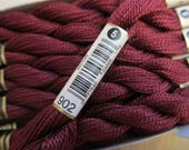 Very Dark Garnet #902, DMC Perle Cotton, Size 5 - 25m / 27.3 yd Skeins - Available in Single Skeins, Larger Pkgs & Full (12 skein) Boxes