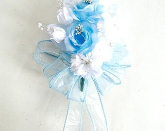 Baby shower corsage, Corsage for Mom-To-Be, Wedding corsage, Corsage, Prom corsage, Floral corsage, Wrist corsage, Corsage for women