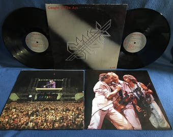 "Vintage, STYX - ""Caught In The Act"", Vinyl LP, Record Album, Original First Press, Mr. Roboto, The Best Of Times, Snowblind, Come Sail Away"