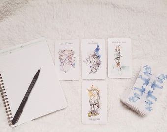 Tarot Reading - Full Read and Image