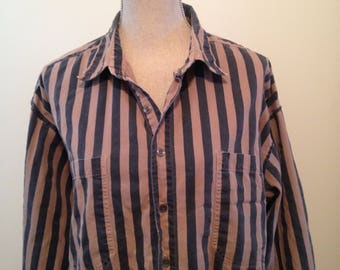 Vintage GAP Oxford Striped 80s Shirt