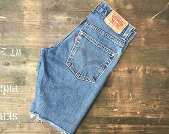 Levi Strauss W24 Cutoff Shorts