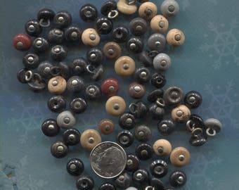 60 Vintage Shoe Buttons-Item# 567