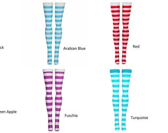 Doll Stockings For Ever After High - Stripes - Doll Clothes