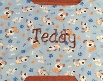 Dog Placemat - PERSONALIZED DOG PLACEMATS - Handmade