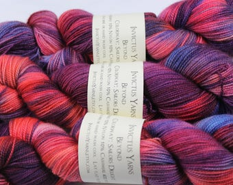 Sailors Delight Beyond MCN sock yarn fingering weight yarn