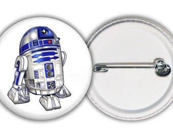Star Wars - Robot R2 - D2 badge
