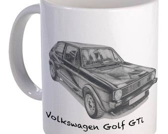 Volkswagen Golf GTi Mug