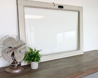 Rustic Window Frame - Fixer Upper Decor - Old Window Frame - Reclaimed Wood Wall Decor - Distressed Wood Frame - Unique Wall Decor