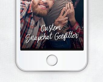 Custom Snapchat Geofilter // Digital Download