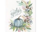 Gather - Print