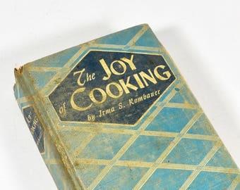 1943 Joy of Cooking Irma Rombauer Classic Cookbook Postwar World War II 1940s Cookbook