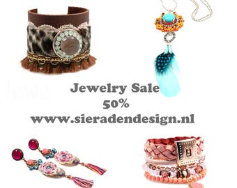 Jewelry Sale 50% on all