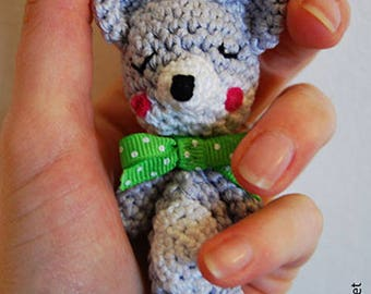 The Fox friend of the little Red Riding Hood - bag charm or key chain - creating handmade