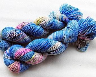 Handdyed SockYarn, 75 Wool, 25 Nylon 100g 3.5 oz. Nr. 129