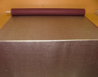 Silver and deep burgandy upholstery good weight quality curtain soft furnishing fabric 56inch wide suitable for upholstery or for crafts