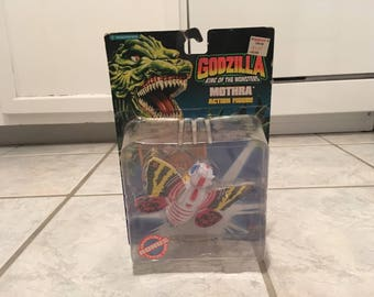 1994 Trendmasters Godzilla King of the Monsters Mothra Action Figure MIP Movies