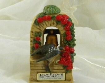 Summer Sale Vintage 1974 Lionstone Whisky Decanter, Made for San Juan Capistrano Mission. Swallows Return