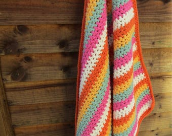 Baby blanket, crochet blanket, crochet baby blanket, textured blanket, nursery blanket, ready to ship