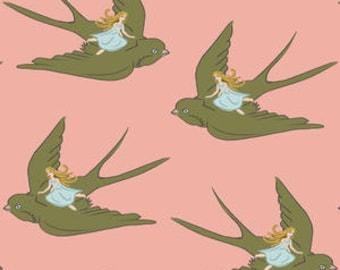 Literie bébé crèche - Poucette, hirondelle, couverture rose, vert, corail, - bébé, lit feuille de literie, jupe de lit, changer la housse de coussin, housse Boppy