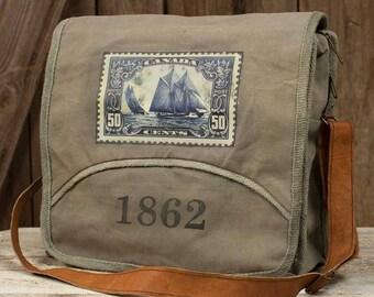 1862 Messenger Bag-Vintage Inspired Bag-Messenger Bag-Fashion Accessories-Bags-Shoulder Bag-Mens Fashion-Womens Fashion