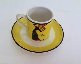 Jane Avril Miniature Cup and Saucer