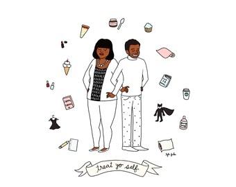Treat Yo Self - Digital Download