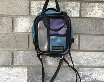 90s grunge club kid wallflower mini backpack