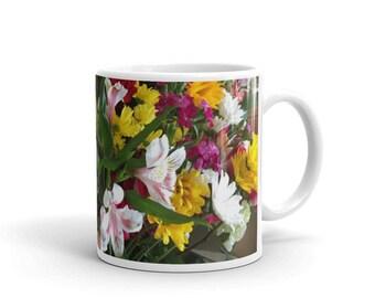 Nice Looking Floral Printed Coffee Mug
