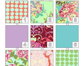 Crib Sheet ... { Love } Amy Butler - Heart Palette
