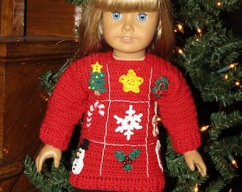 NEW Ugly Xmas Sweater PDF Crochet Pattern