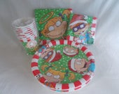 Vintage NOS Christmas Rugrats Cartoon Party Supply
