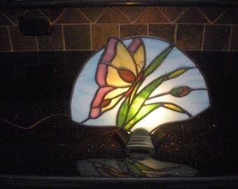 Butterfly Fan Lamp