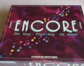 1989 Encore Game by Parker Brothers