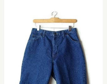 ON SALE Vintage Blue  Denim Shorts from 90's/W26*