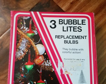 New Vintage # Bubble Litws Replacement Bulbs