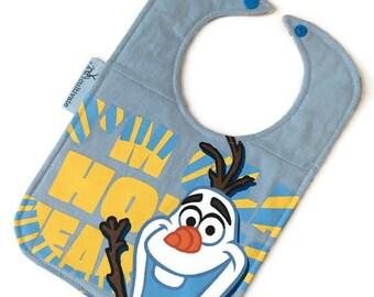 Olaf Baby Bib • Frozen Baby Shower Gift • Frozen Bib •Disney Tshirt Bib