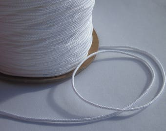 1 m of thread for jewelry, cotton and polyester 1 mm thick approximately (88)