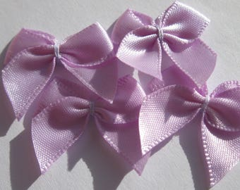 4 nodes in satin 20 to 21 mm approx - stitched fabric - (C5)