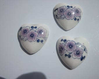 2 hearts ceramic craft 20mm (1)