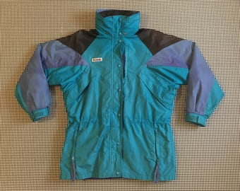 1990's, Columbia, Williwa, ski parka, with zip in/out, reversible, liner jacket, Women's size Small