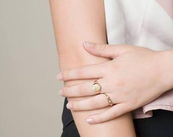 SALE Brushed Signet ring, Brushed Seal ring, Siegelring, Chunky Ring, Statement Ring, Large Gold Ring, Large Silver Ring, Ring for Men & Wom