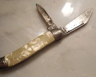 Summer Sale Knife vintage ImperiaI  pocket knife, 1950's pocket knife, Imperial, Prov. RI