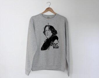 Oscar Wilde Regular Unisex Sweatshirt Sweater Jumper