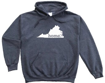Homeland Tees Washington Home Pullover Hoodie Sweatshirt