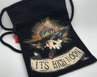 HIGH NOON - Handpainted McCree Overwatch hip bag