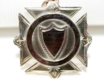 Australian 9ct Shield Shape Medal (c:1900)