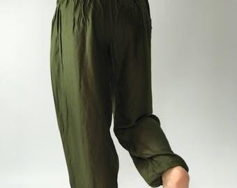 SM0030 Hippie Gypsy Pants Rayon Pants,Aladdin Pants Maxi Pants Boho Pants