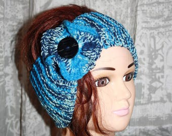 wool and acrylic headband
